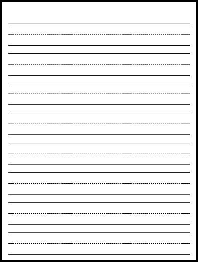 CHSHTeach Paper to Print Resources – Vertical Lined Paper
