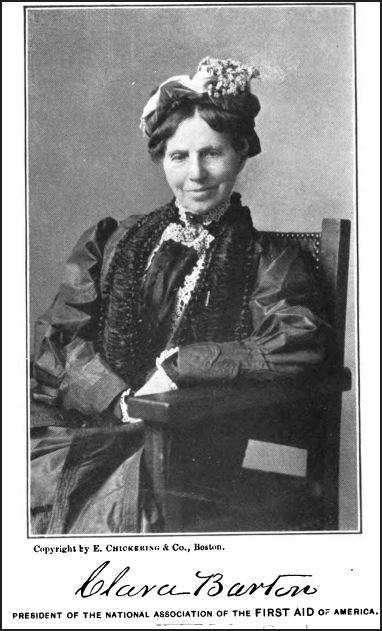 clara barton and the american red Introduction from childhood to death clara barton dedicated her life to helping others she is most notably remembered for her work as a nurse on the battlefield during the civil war and for the creation of the american red cross.