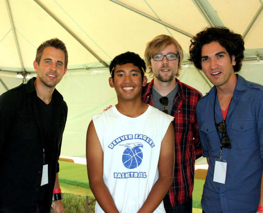 Tyler w/ Sanctus Real